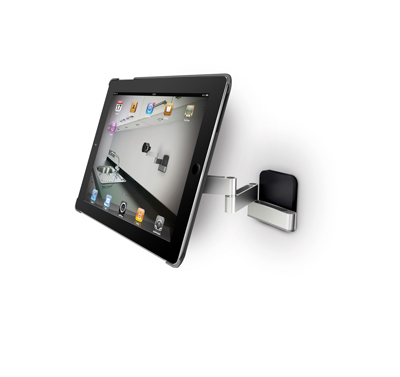 wandhalterung f r ipad2 3 4 air eastek. Black Bedroom Furniture Sets. Home Design Ideas