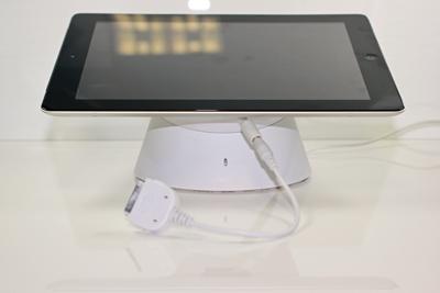 smart tab v2 ipad diebstahlsicherung wei sichern laden eastek. Black Bedroom Furniture Sets. Home Design Ideas