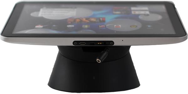 smart tab v2 ipad diebstahlsicherung schwarz sichern laden eastek. Black Bedroom Furniture Sets. Home Design Ideas